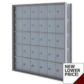 "Florence Mini Storage Lockers, A Door 7.5"" Deep"