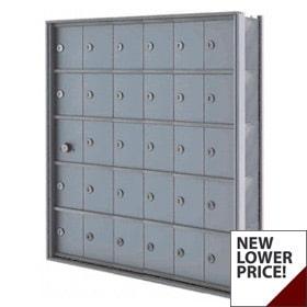 "Florence Mini Storage Lockers A Door, 7.5"" Deep Front Access"