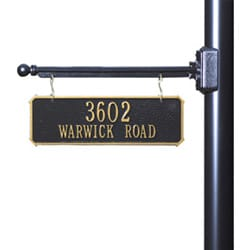 Hanging House Number Signs & Plaques Double Sided