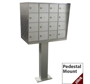Pedestal Cell Phone Lockers