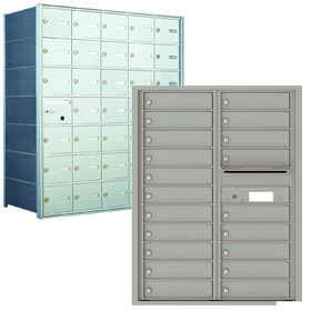 4C & 4B+ Commercial and Apartment Horizontal Mailboxes