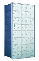 Private Distribution Horizontal Mailboxes For University Mail Rooms