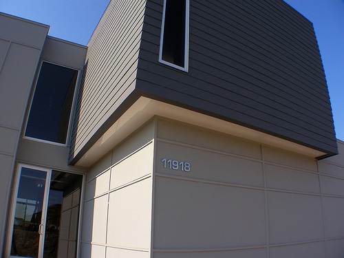 Blomus SIgno House Numbers Installed