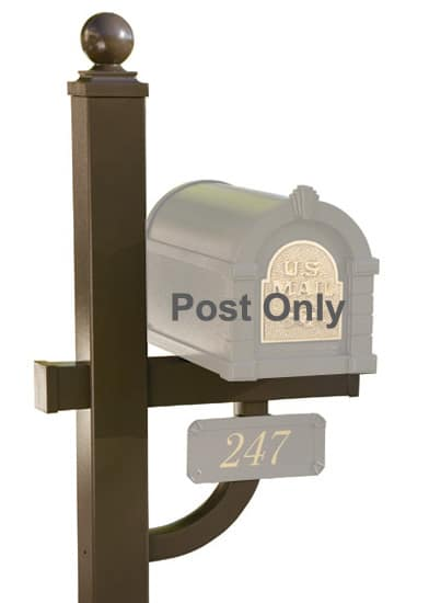 Gaines Deluxe Mailbox Post