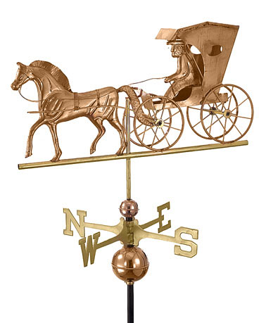Good Directions Copper Country Doctor Weathervane