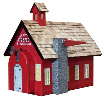 School House Novelty Mailbox