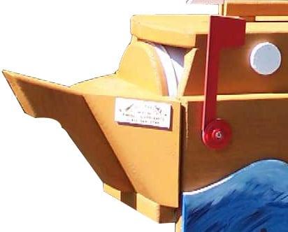 Pinehill Woodcraft Sailboat Detailed Image