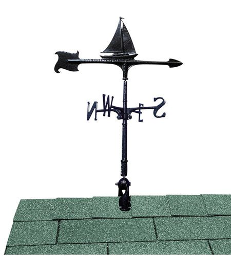Whitehall Sailboat Accent Weathervane
