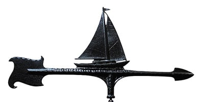 Whitehall 30 Inch Sailboat Accent Weathervane