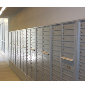 Florence 4C Mailboxes Installed