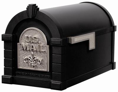 Keystone Fleur De Lis Post Mount Mailboxes