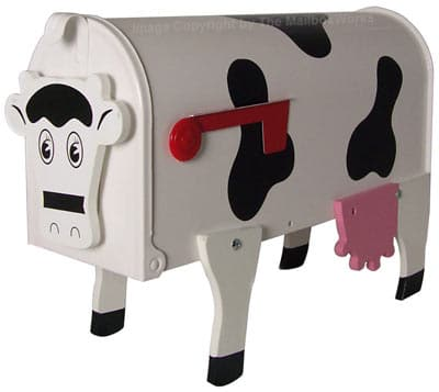 Novelty Farm Animal Mailboxes