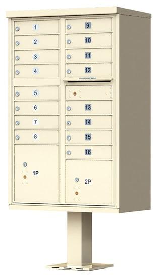 Commercial Mailboxes: CBU, 4C Horizontal, Apartment