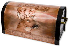 Post Mount Deer Mailboxes for Sale