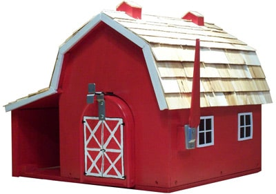 Barn, School and Church Shaped Novelty Mailboxes
