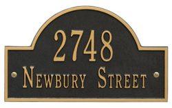 Whitehall Address Plaques