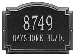 Unique Address Plaques