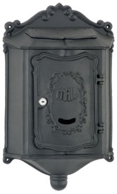 AMCO Colonial Wall Mount Mailbox Black