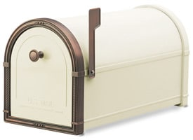 Coronado Mailbox Sand Antique Copper