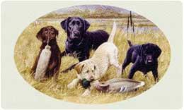 Bacova Mailbox Lab Pups 10417