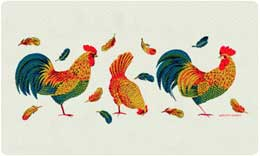 Bacova Mailbox Roosters 10420