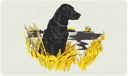 Bacova Mailbox Sitting Labrador 10078