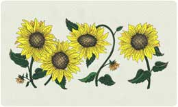 Bacova Mailbox Sunflowers 10303