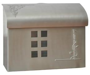 Ecco 7 Mailbox Satin Nickel