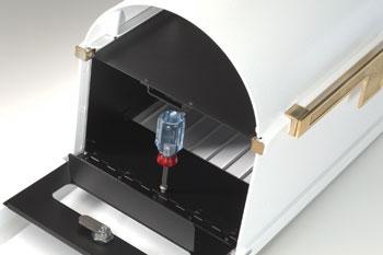 Gaines Keystone Mailbox Locking Insert Installation