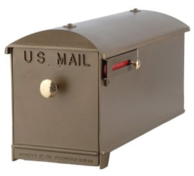 Imperial Mailbox and Post Bronze