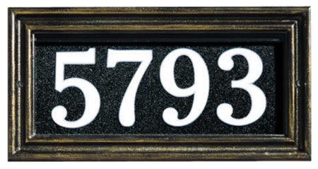 Whitehall Illuminator Address Plaque