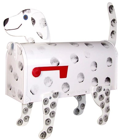 Dalmatian Novelty Mailboxes