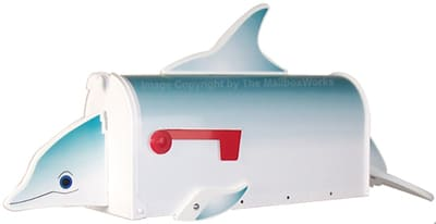 Dolphin Novelty Mailboxes