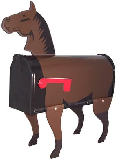 Horse Novelty Mailbox