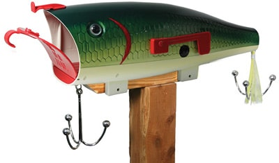 Baby Bass Fish Lure Novelty Mailboxes