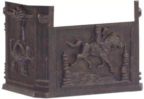 AMCO Victorian Pedestal Mailbox Box Bronze