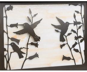 America's Finest Large Mailbox Hummingbird