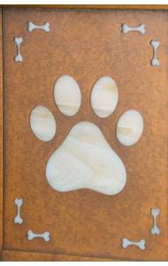 America's Finest Vertical Mailbox Dog Paw