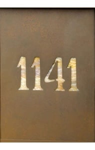 America's Finest Vertical Mailbox Numbers