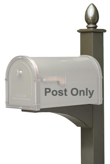 Architectural Deluxe Mailbox Post