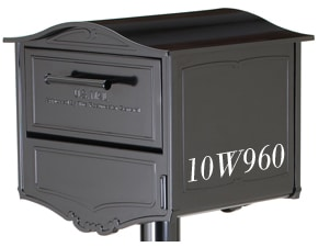 Geneva Post Mount Mailbox Side Lettering