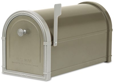 Architectural Bellevue Residential Post Mount Mailboxes