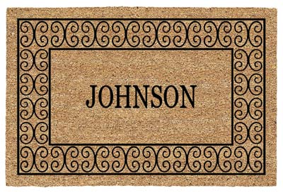 Charleston Name Door Mat