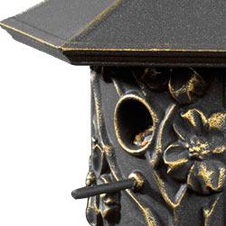 Dogwood Bird Feeder Oil Rubbed Bronze