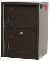 dVault Junior Delivery Vault Mailboxes Copper