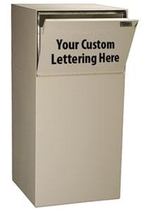 dVault DVCS0020 Deposit Vault Front Lettering
