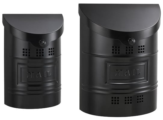 Additional Images - Residential Mailboxes - Wall Mount Ecco Black