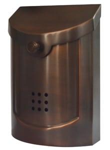 Ecco 5 Mailbox Antique Copper