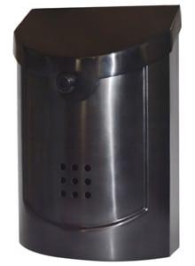 Ecco 5 Mailbox Black Pewter
