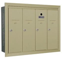 Florence 12504H Vertical Mailboxes Sandstone